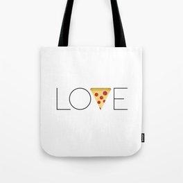 Love = Pizza Tote Bag