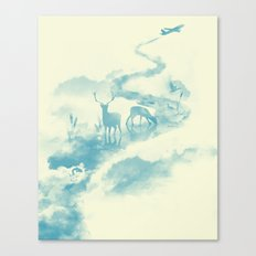 Jetstream Canvas Print
