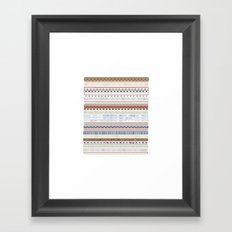 Stamp Me Framed Art Print