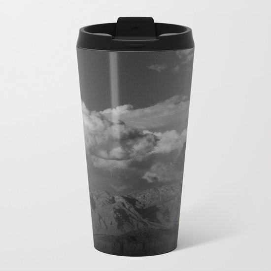 Virgin Mountains - B & W Metal Travel Mug