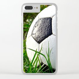 It's all about the ball Clear iPhone Case
