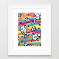 breaking Framed Art Prints featuring Breaking by Taylor deVille