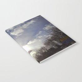 Winter Sky Notebook