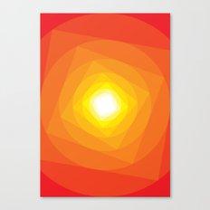 Gradient Sun Canvas Print