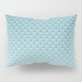 Sky-blue geometric pattern Pillow Sham