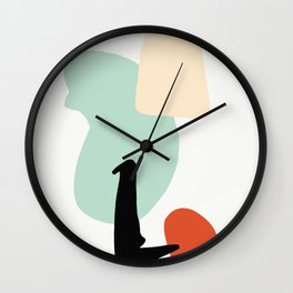 Matisse Shapes 4 Wall Clock