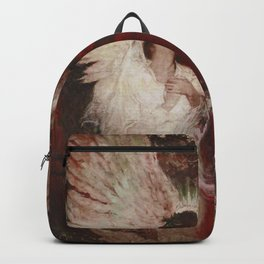 The Lovers romantic portrait painting by Dean Cornwell Backpack