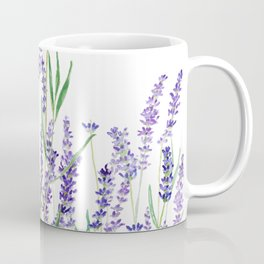 lavender watercolor horizontal Coffee Mug