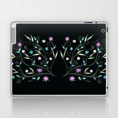 Flowering midnight Laptop & iPad Skin