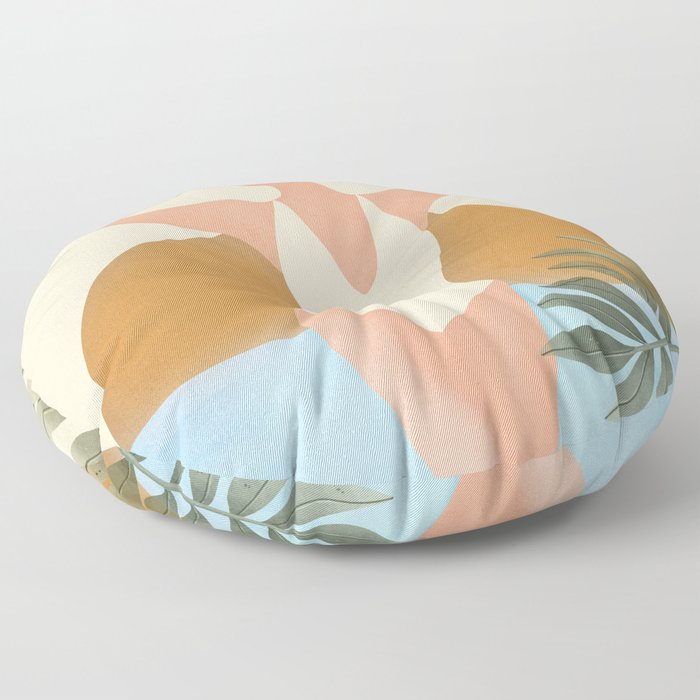 Beach Day Floor Pillow