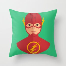 flat for flash Throw Pillow