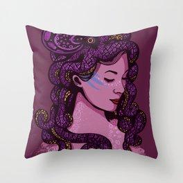 A Mermaid's Hair Throw Pillow
