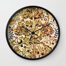 "William Morris ""Quince Tree"" Wall Clock"