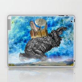 Hugo the giant Bear Laptop & iPad Skin
