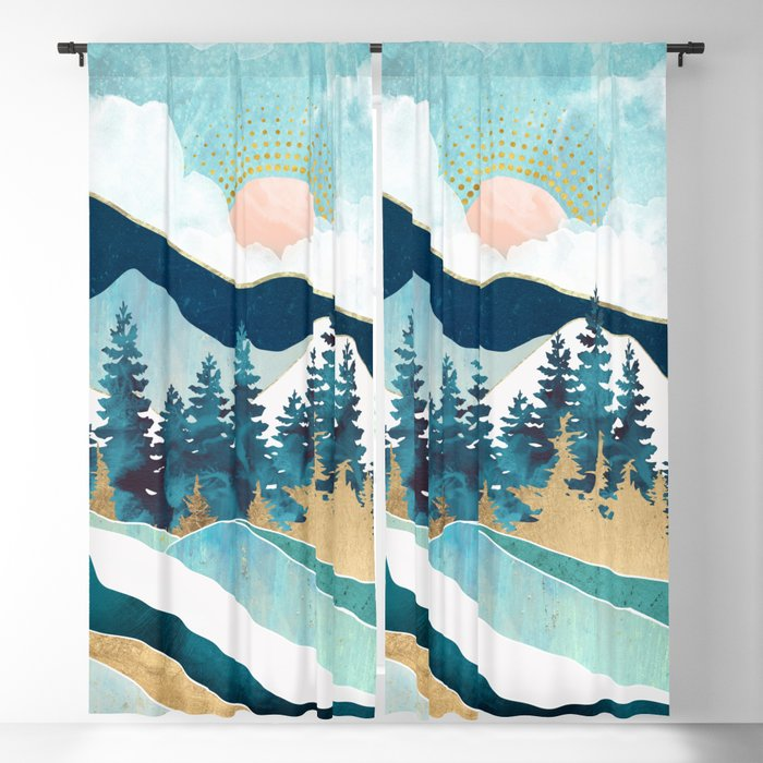 Summer Forest Blackout Curtain
