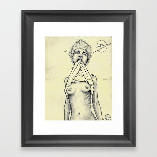 008 Vincent Framed Art Print