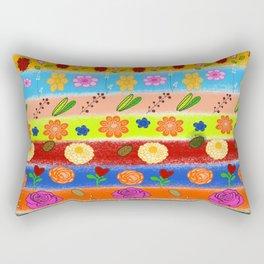 Beautiful Fall Theme Pattern Rectangular Pillow
