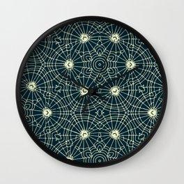 Spider Net Wall Clock