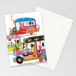 Philippine Jeepney Stationery Cards
