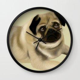 Doug the Pug Wall Clock