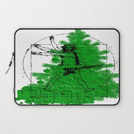 da vinci's Tree Laptop Sleeve