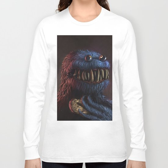 Cookie Monster Long Sleeve T-shirt