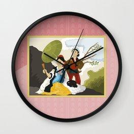 The Parasol by Goya Wall Clock