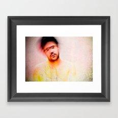 Explicit - Love Framed Art Print