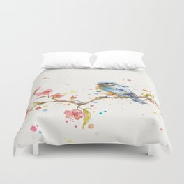 Little Journeys (BlueBird) Duvet Cover