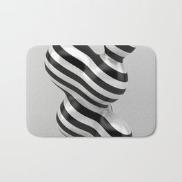 Primitive Stripes Bath Mat