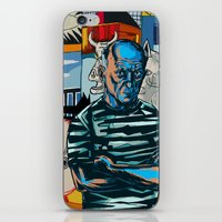 pablo picasso iPhone & iPod Skins featuring Picasso by Nicolae Negura