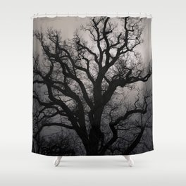 November Mood Shower Curtain