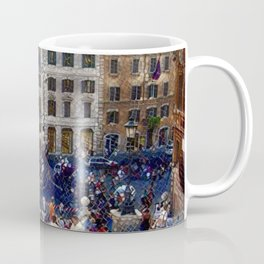 The Spanish Steps 4138 - Rome, Italy Coffee Mug