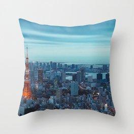 Tokyo 12 Throw Pillow