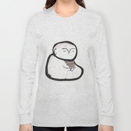 Buddha Meditating Long Sleeve T-shirt