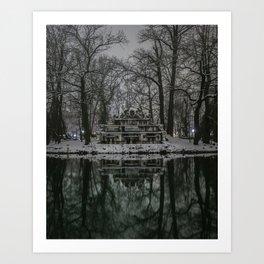 Parco Ducale Art Print
