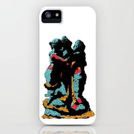 Weird Grief iPhone Case