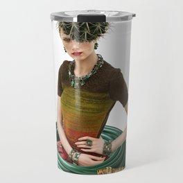 Green Garden by Lenka Laskoradova Travel Mug