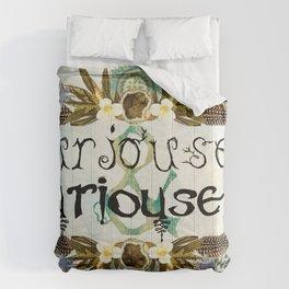 Curiouser & Curiouser Comforters