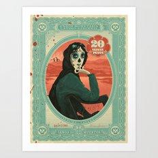 Señora Lavery Art Print