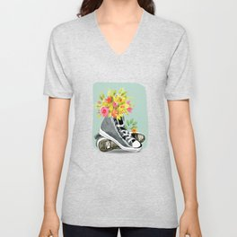 Herbal Shoes Unisex V-Neck