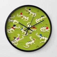 Crocodile Couture Wall Clock