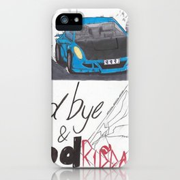 Juice Wrld 999 Car iPhone Case