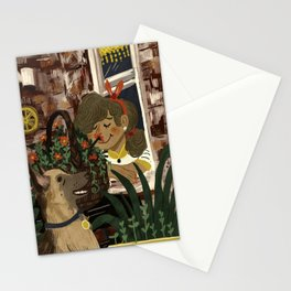 Shepherd and the Girl on the Corner Stationery Cards