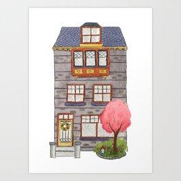 Brooklyn House 7 Art Print