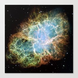 """Crab Nebula"" Taurus Canvas Print"