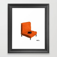 Favorite Chair Framed Art Print