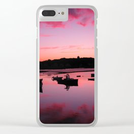 The Harbor Clear iPhone Case