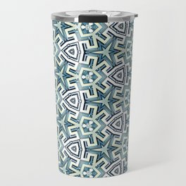 Blue Maze Travel Mug