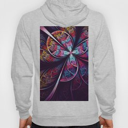 Abstract Flower Hoody